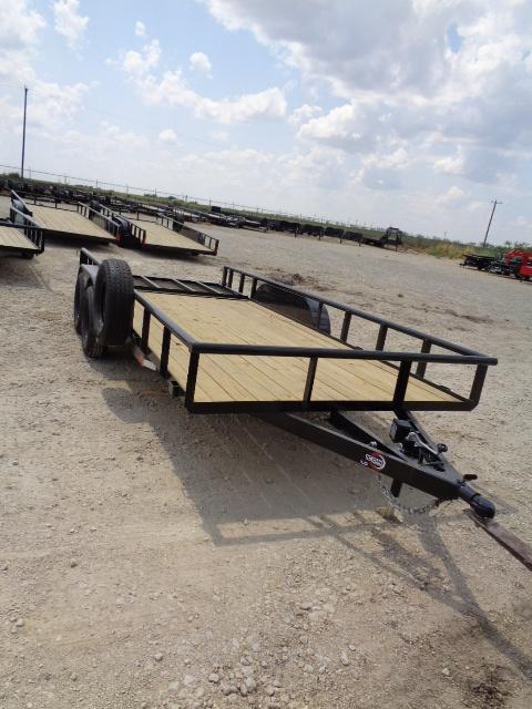 2021 ICON 83X18 7K W/ GATE Utility Trailer