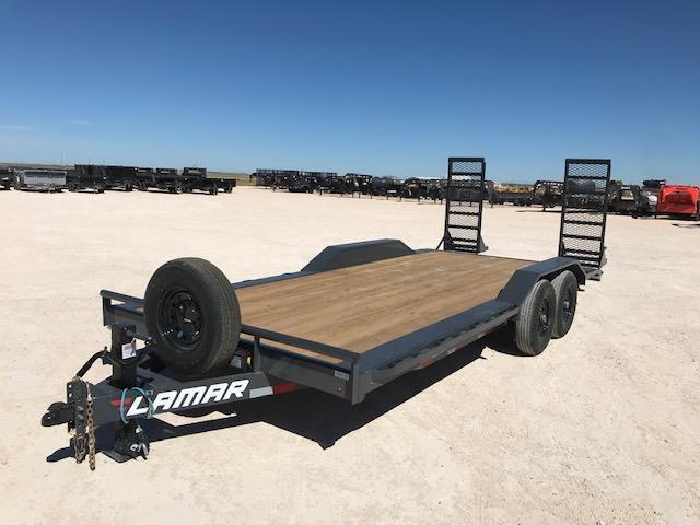 "2021 Lamar Trailers 102"" x 20' Equipment Trailer"