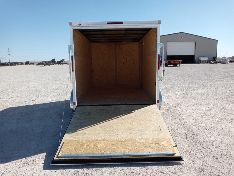2021 Haulmark 7' x 12' Enclosed Cargo Trailer