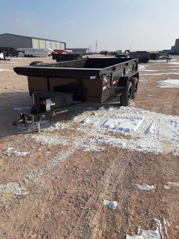 2021 RawMaxx 12x77 Dump Trailer