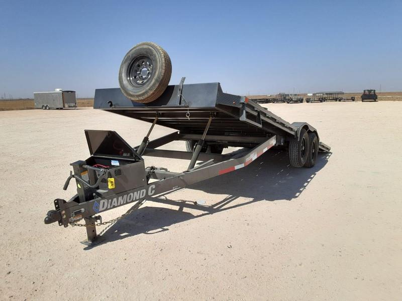 2021 Diamond C Trailers 22x82 Tilt Equipment Trailer