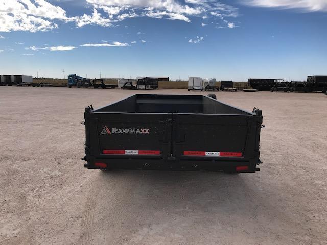 """2022 RawMaxx 83"""" x 16' Dump Trailer"""