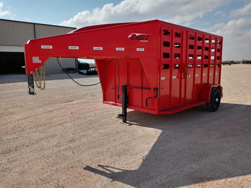 "2021 Maxxim Industries 12' x 6' 8"" Livestock Trailer"