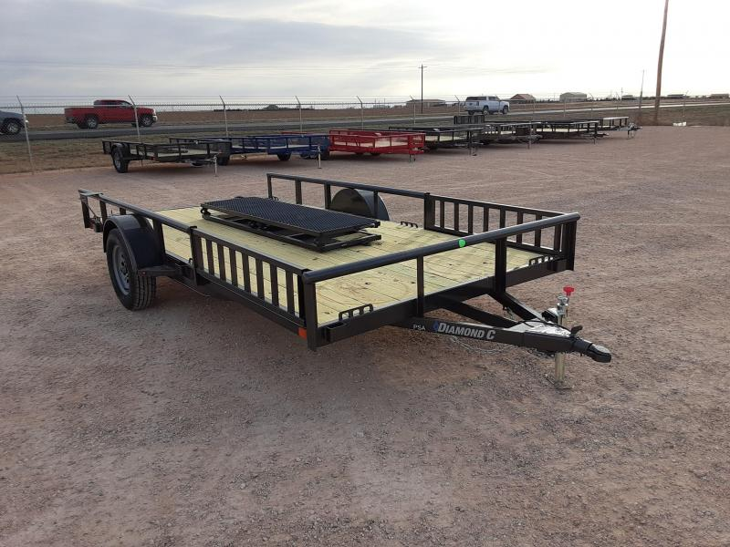 2020 Diamond C Trailers 14X83 PREMIUM SINGLE AXLE Other Trailer