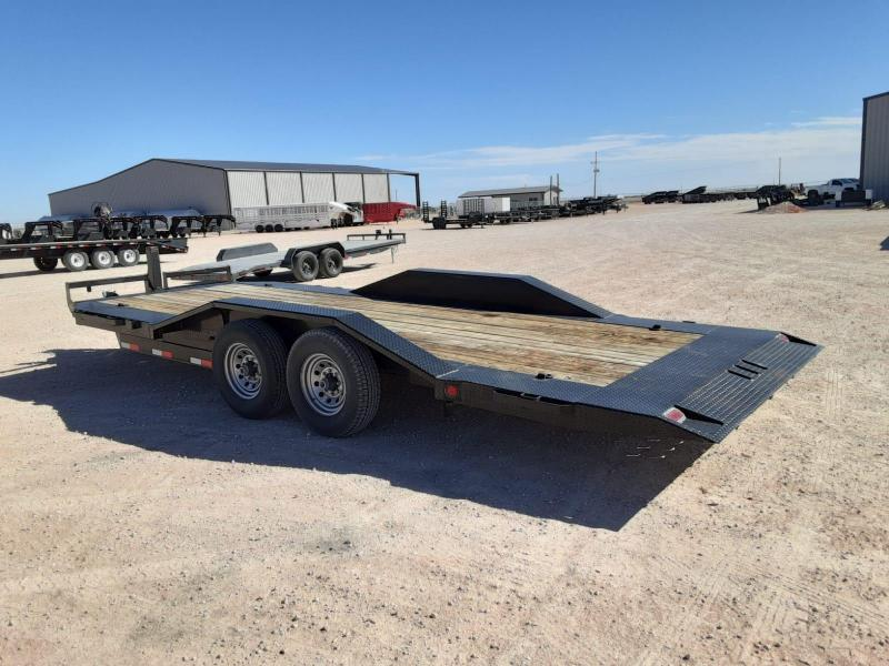 2018 Iron Bull 20' Tilt Equipment Trailer