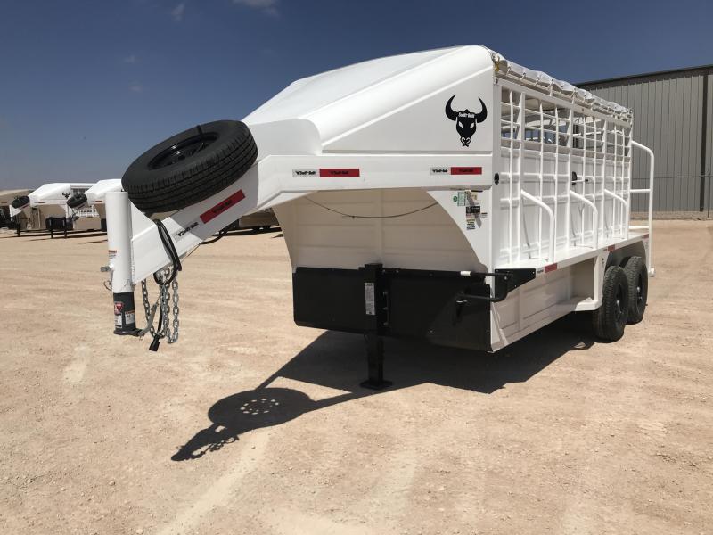 "2021 Swift Built Trailers 14' X 6'8"" Livestock Trailer"