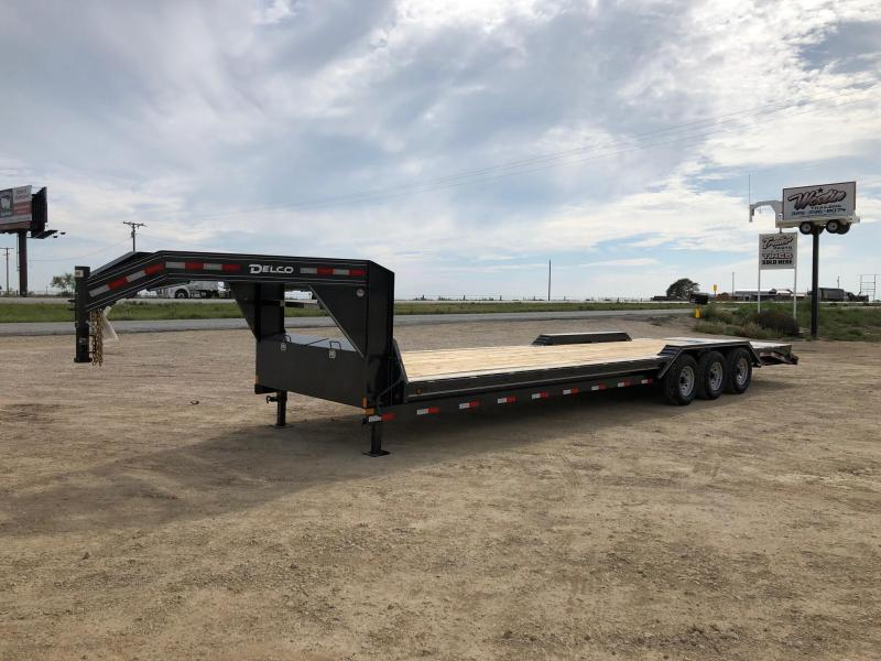2021 Delco Trailers 102x32 Equipment Trailer