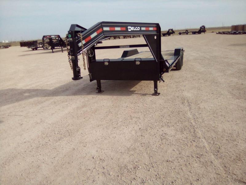"2020 Delco Trailers 102""x26' Equipment Trailer"