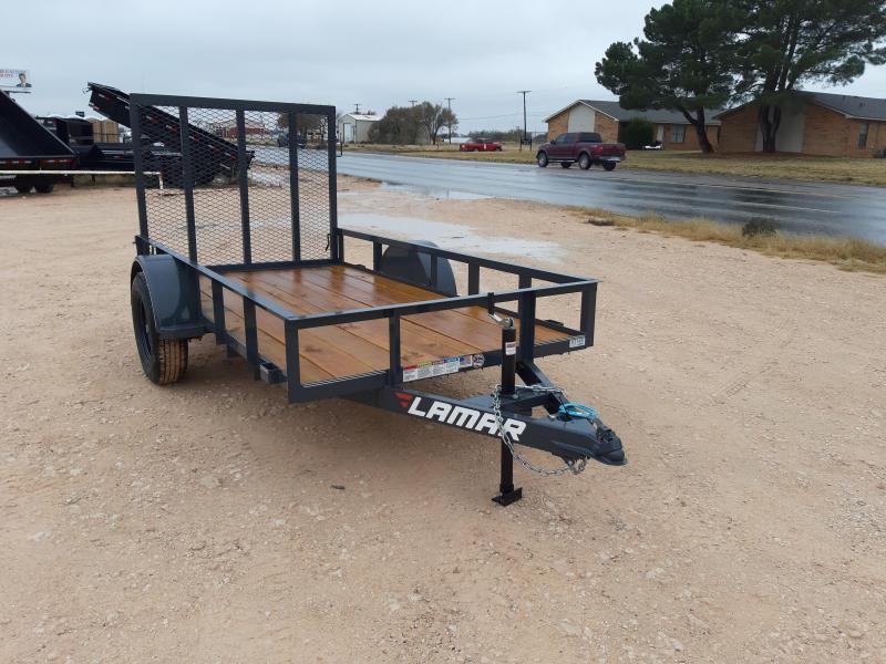 2020 Lamar Trailers Single Axle Utility (UT) 3K Utility Trailer