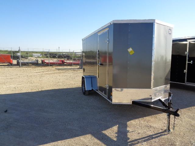 2021 Wells Cargo 6X12 DELUXE 3K Enclosed Cargo Trailer