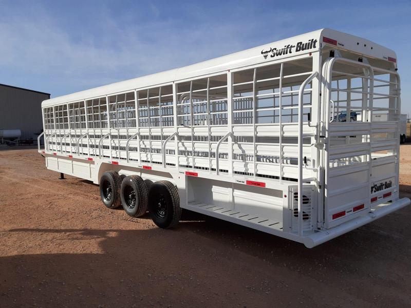 2021 Swift Built Trailers 32' Livestock Trailer