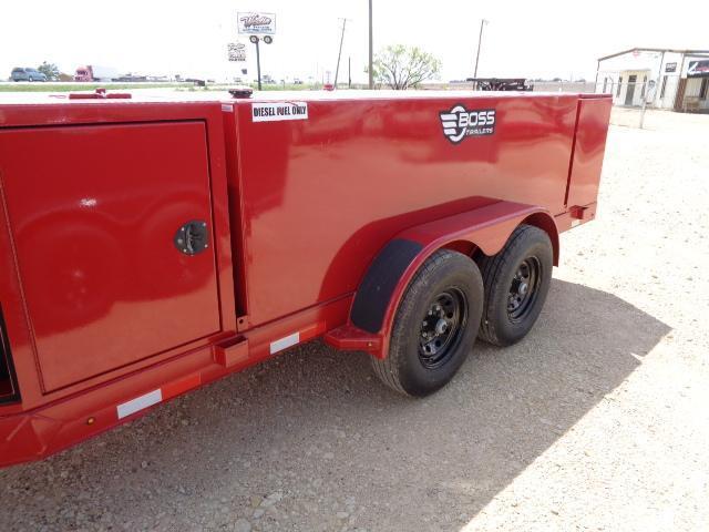 2021 Farm Boss 990 Gallon Fuel trailer Tank Trailer