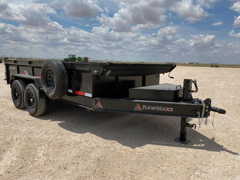 2021 Other RawMaxx 83x14 14k Dump Trailer
