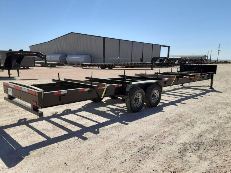 2019 Lamar Trailers 40' Pipe Hauler Other Trailer