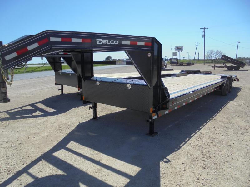 2020 Delco Trailers GC 102X32 14K Equipment Trailer