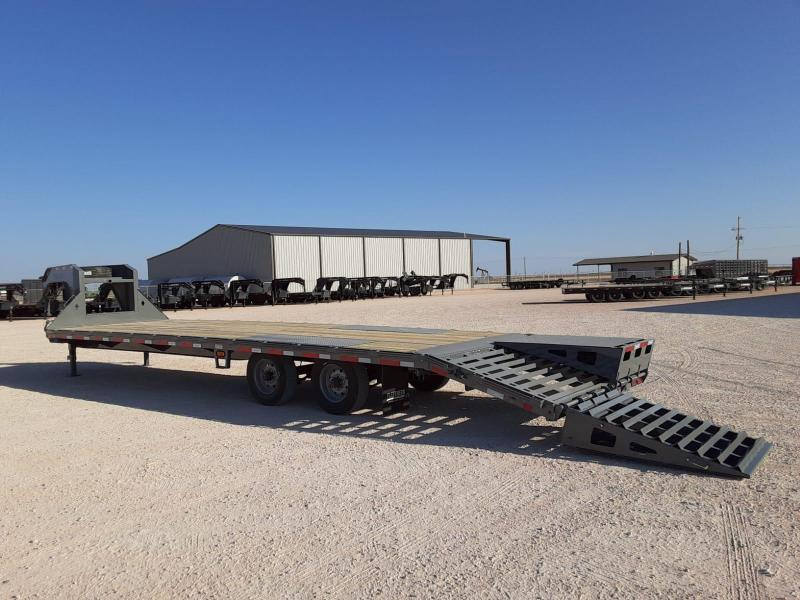 2021 Diamond C Trailers 32x102 Flatbed Trailer