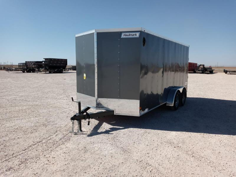 2021 Haulmark 7' x 16' Enclosed Cargo Trailer