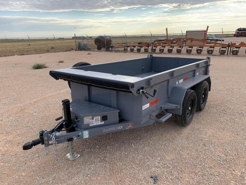 2021 RawMaxx 10x60 Dump Trailer