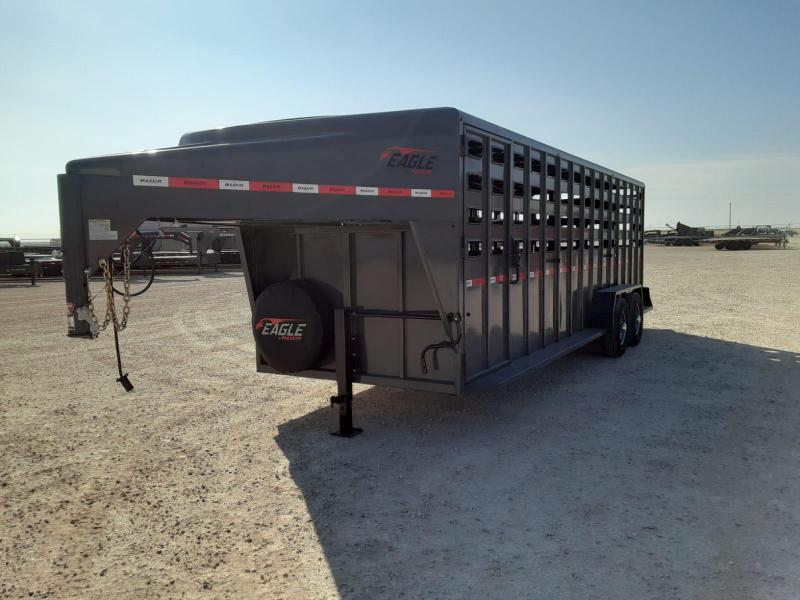 "2021 Maxxim Industries 24' X 6'8"" Livestock Trailer"