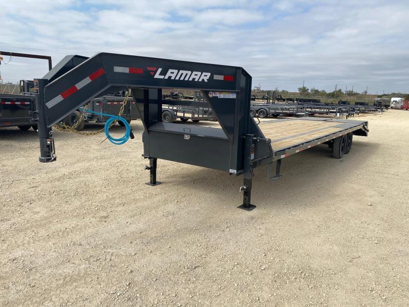 "93956 2021 Lamar 102"" x 28' GN Deck-Over 14k"