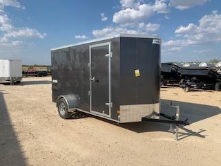 2021 Haulmark 6x12 Enclosed Cargo Trailer