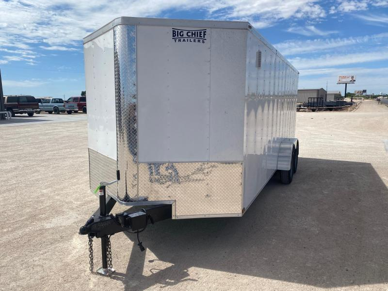 2020 Lark 7' x 18' Enclosed Cargo Trailer
