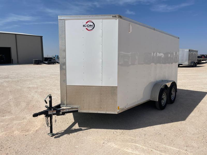 2021 ICON 7' x 14' Enclosed Cargo Trailer