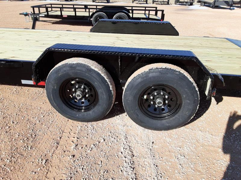 2021 Lamar Trailers 83x20 Equipment Trailer