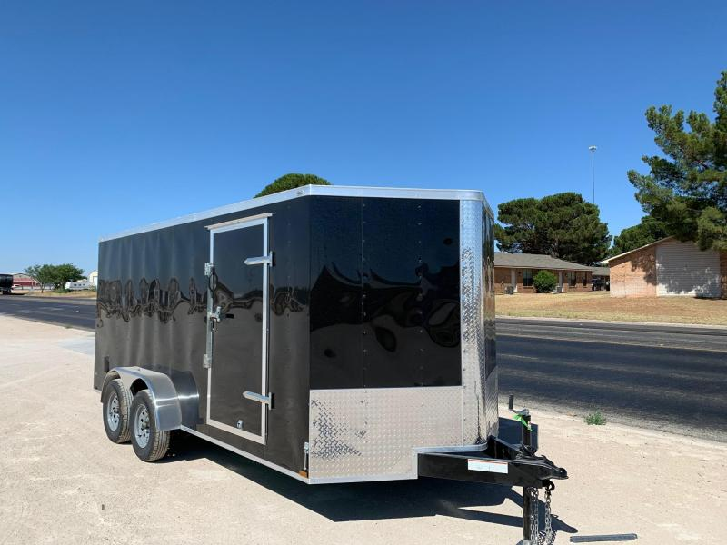 2020 Lark 7' x 16' Enclosed Trailer