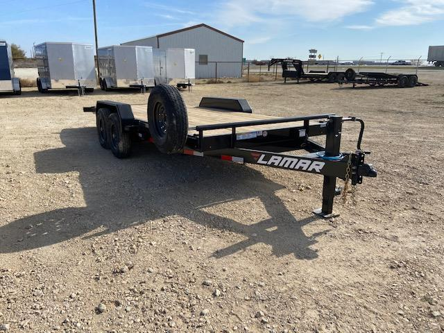 "2021 Lamar Trailers 83"" x 18' Equipment Trailer"