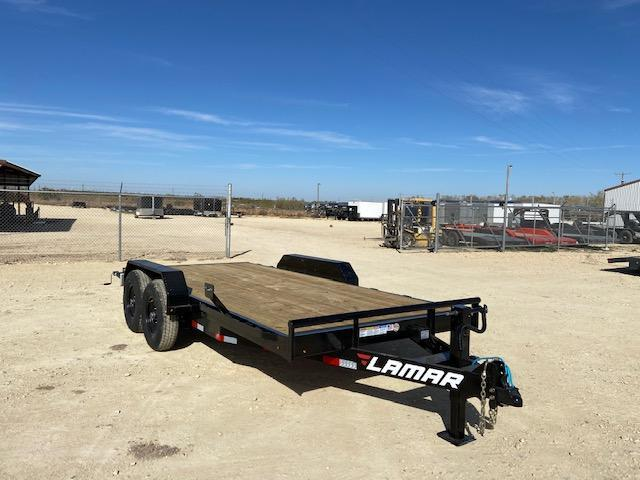 "2021 Lamar Trailers 83"" x 16' Equipment Trailer"
