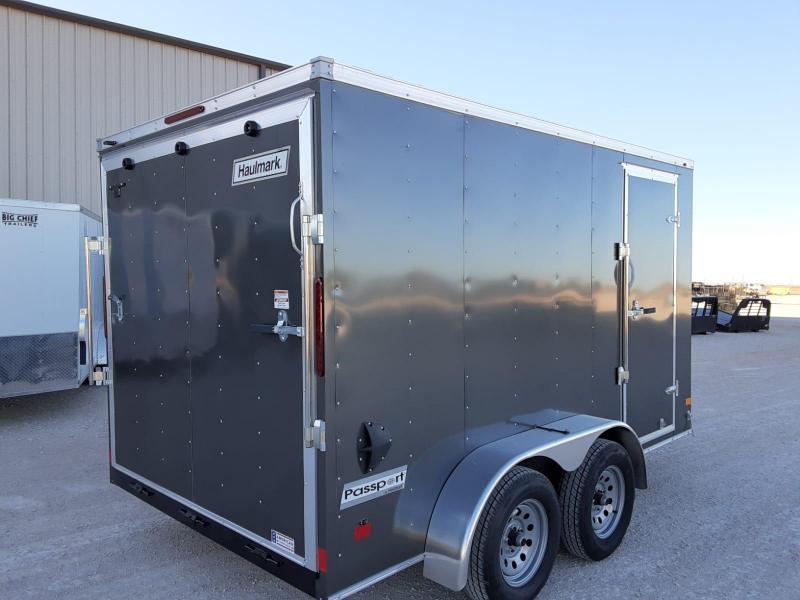 2021 Haulmark 7X12 Enclosed Cargo Trailer