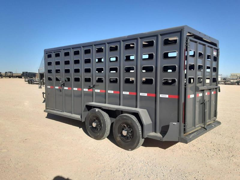 2021 Maxxim Industries 16x6.7 Livestock Trailer