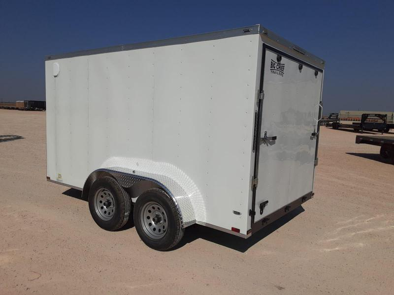 2021 Lark 7x12 Enclosed Cargo Trailer