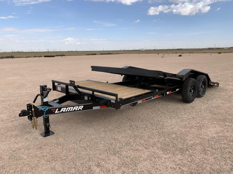 2020 Lamar Trailers 102x20 14K Tilt Equipment Trailer