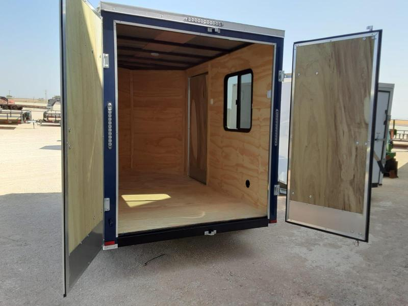 2021 Lark 6X10 Enclosed Cargo Trailer