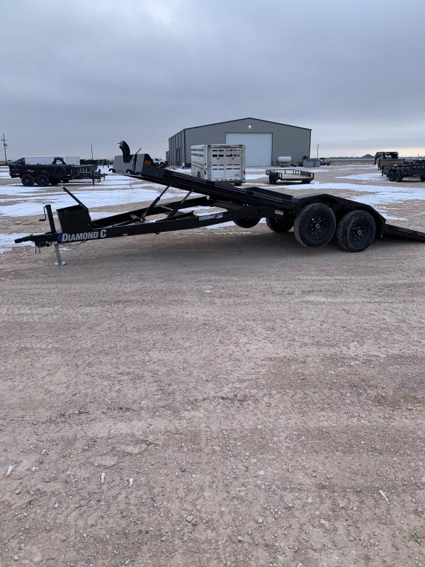 2021 Diamond C Trailers 20x82 Flatbed Trailer