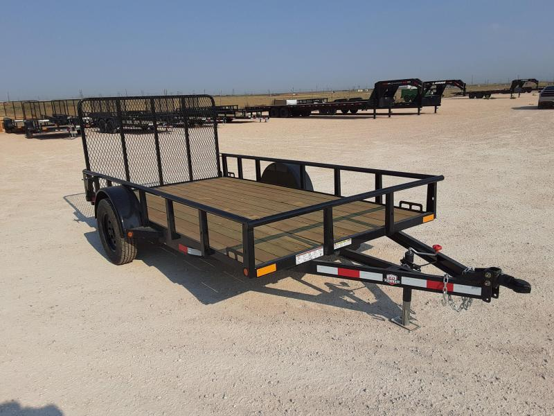 2021 Other ED Trailers 77x12 Single Axle Utility Trailer