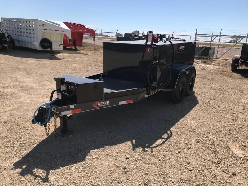 2021 Farm Boss 5' X 10' 990 GAL. Fuel Trailer