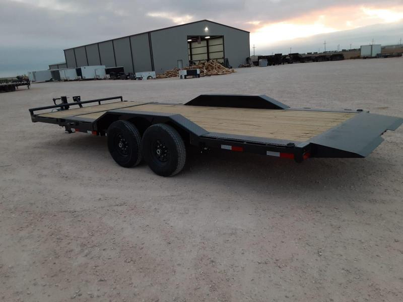 2021 Lamar Trailers 102X20 14K Tilt Equipment Trailer