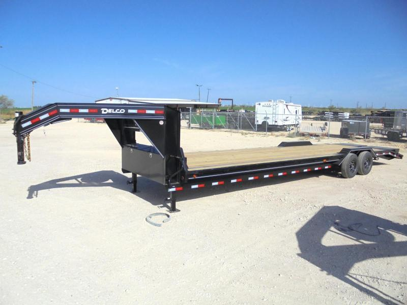 2020 Delco Trailers GC 102X30 14K CARHAULER Equipment Trailer