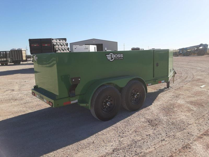 2020 Farm Boss 60x10 990 Gal Fuel Trailer