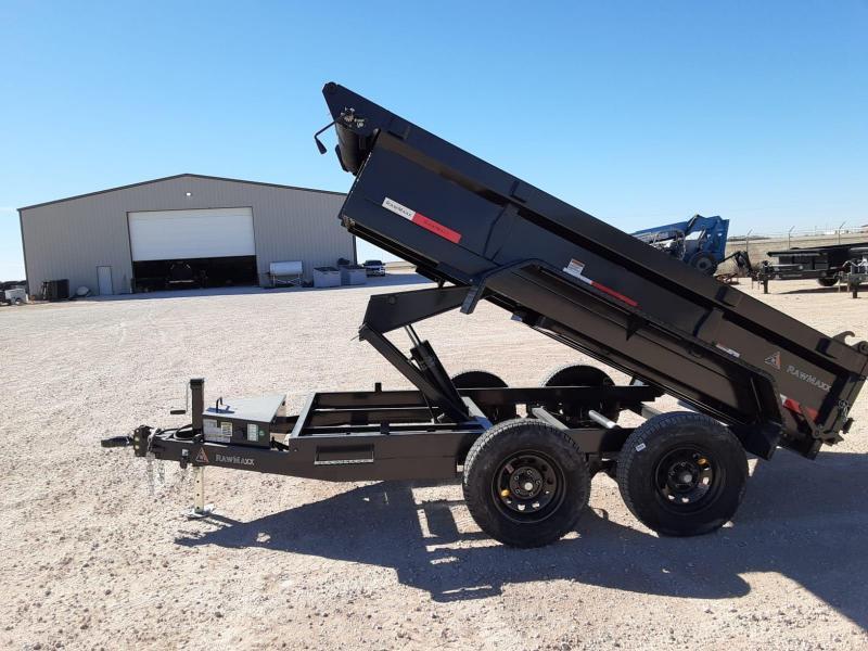 2020 RawMaxx 10x60 Dump Trailer