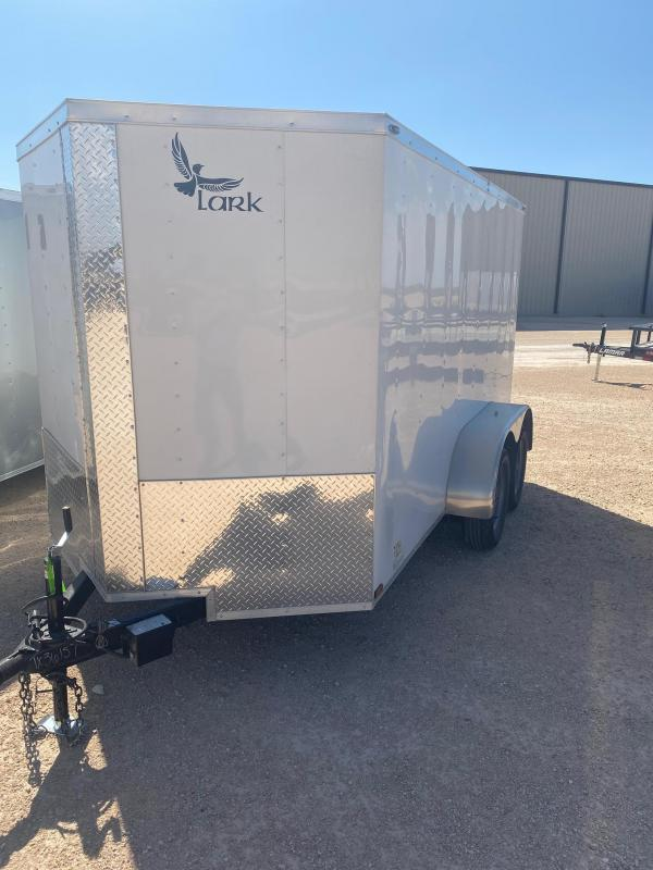 2020 Lark 6' x 12' Enclosed Cargo Trailer