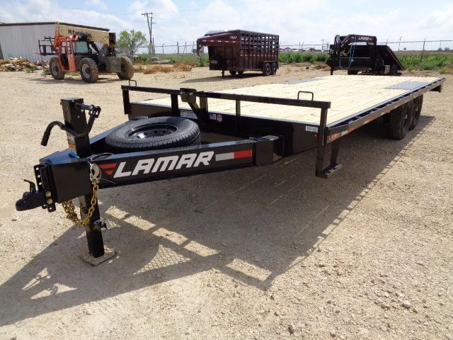 2021 Lamar Trailers F8 102X22 14K Deckover Trailer