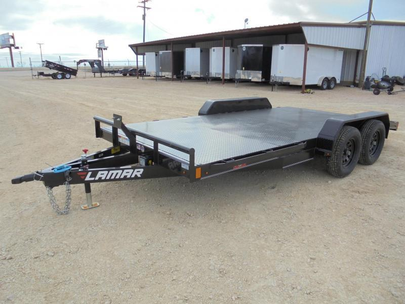 2020 Lamar Trailers CC 83X16 7K CAR HAULER Car / Racing Trailer
