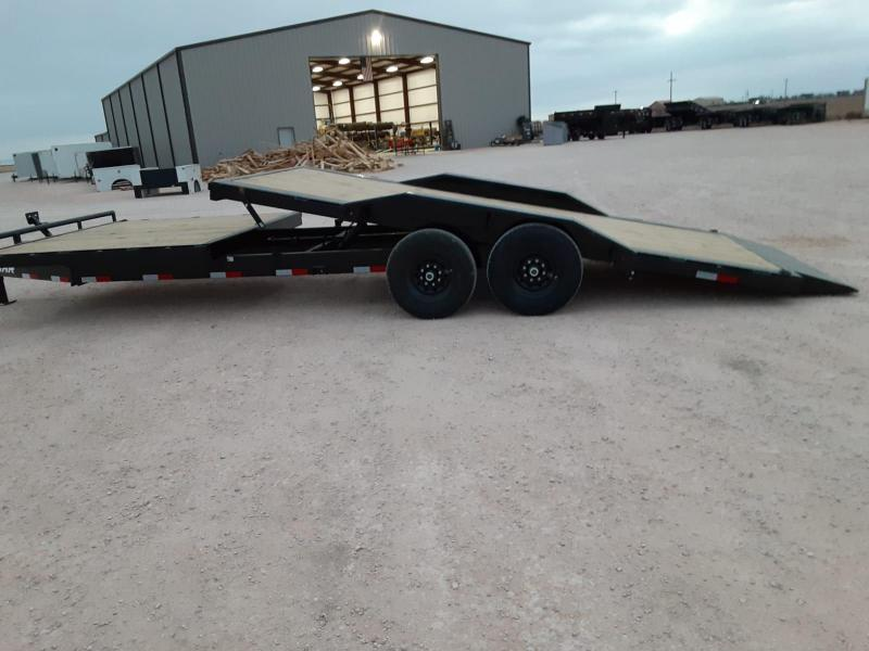 2021 Lamar Trailers 102x24 Goose-Neck Tilt Equipment Trailer