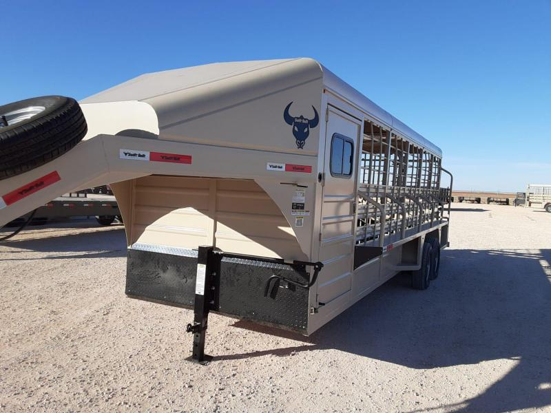 2021 Swift Built Trailers 24' Livestock Trailer