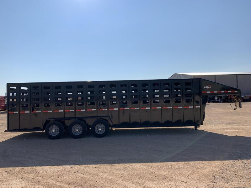 "2021 Maxxim Industries 28x6'8"" Livestock Trailer"