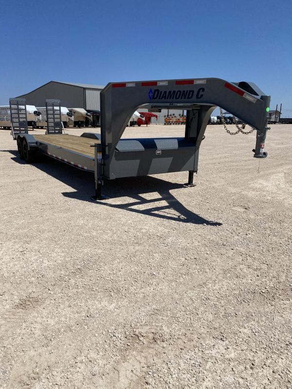 2021 Diamond C Trailers 28x82 Low Pro Equipment Hauler 20K Gooseneck Bodies